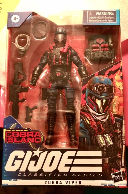 Cobra Viper Hasbro GI JOE: Classified: Cobra Island Target Exclusive In Hand