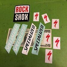 Specialized Stickers Rock Shox stkr MTN bike mtb RockShox lot bicycle of shock
