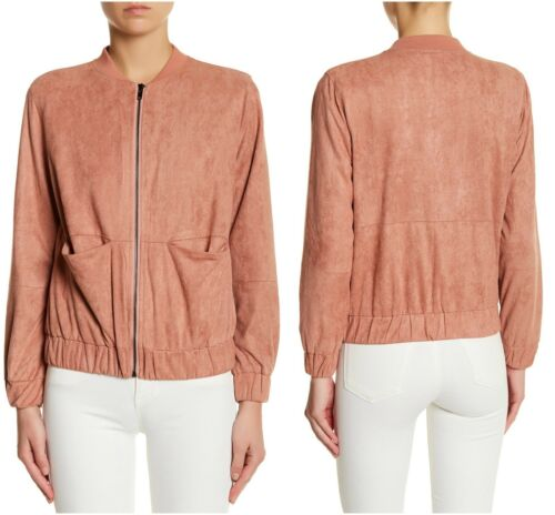 Uk Suede Bomber 12 Missguided Soft Super Varsity Faux 8 Giacca Chic Nuovo Sz CCpqwXxv