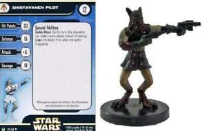 2x-Shistavanen-Pilot-29-Universe-Star-Wars-Miniatures-NM
