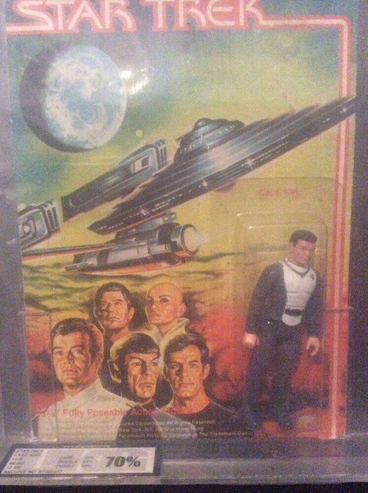 2 Graded 1979 Star Trek The The The Movie Action Figures Sealed Capt Kirk And Spock 6c0d13