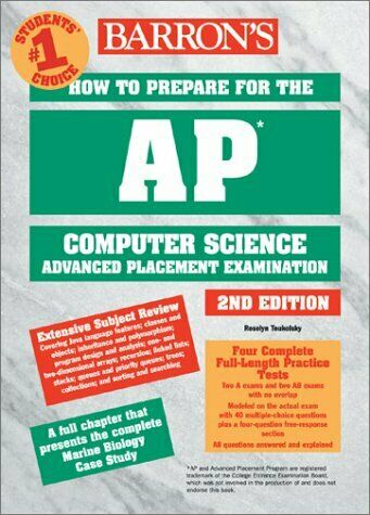 How to Prepare for the AP Computer Science Exam by Teukolsky, Roselyn-ExLibrary