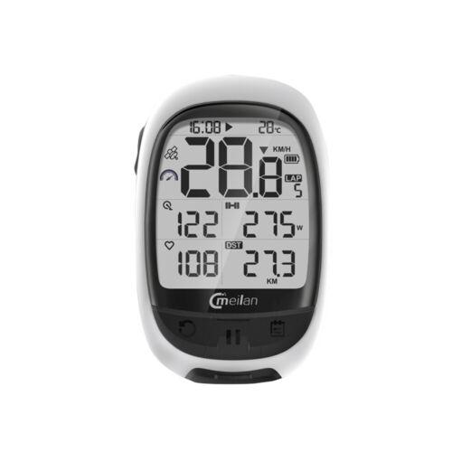MEILAN M2 GPS Bike Computer Cadence Heart Rate Power Meter Cycling W9Y9