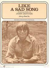 John Denver Anthology Piano Sheet Music Guitar Chords Folk