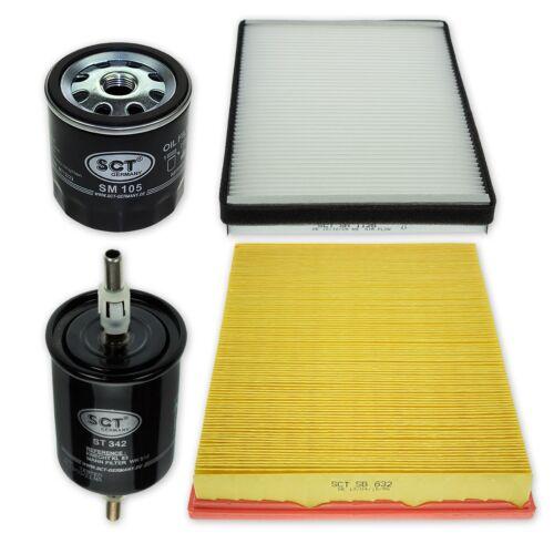 Filterset XXL Opel Astra G//H Zafira A mit Delphi Klimaanlage