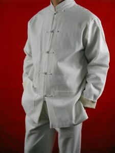 fe4987970b Fine Linen Kung Fu Martial Arts Taichi Uniform Suit XS-XL or Tailor ...