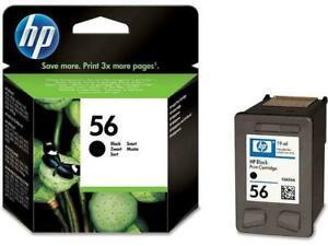 1-x-Genuine-HP56-Black-Ink-Cartridge-For-HP5650-9600-9680-PSC2410-PSC2510