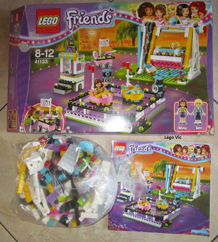 Lego 41313 Friends Amusement Amusement Amusement Park Bumper Cars Manège + Notice + Boite CNB10 8b8a72