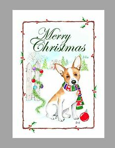 image is loading rat terrier dog christmas cards box of 16