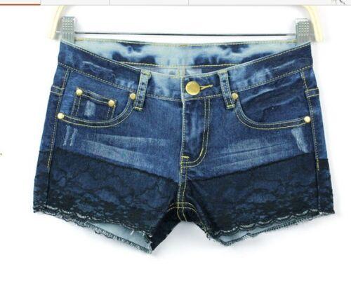 Pantaloncini corti shorts pantaloni bermuda corti donna denim jeans 6068