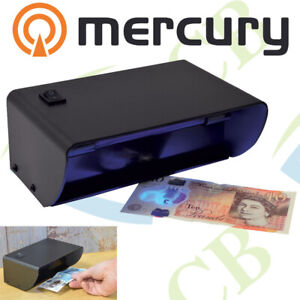 Electronic UV COUNTERFEIT BANK NOTE FAKE Money CHECKER Cash DETECTOR Tester