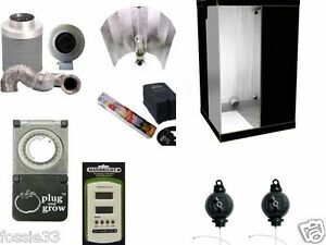Image is loading DR120-1-2M-COMPLETE-600W-GROW-TENT-KIT  sc 1 st  eBay & DR120 1.2M COMPLETE 600W GROW TENT KIT | eBay