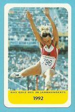Heike Drechsler Olympics Track & Field Long Jump Cool Collector Card Europe