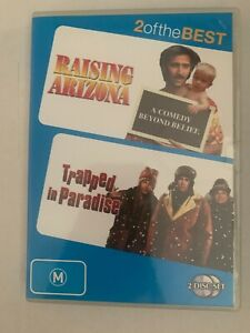 Raising-Arizona-Trapped-In-Paradise-2-Of-The-Best-2-DVD-Disc-Set-Region-4