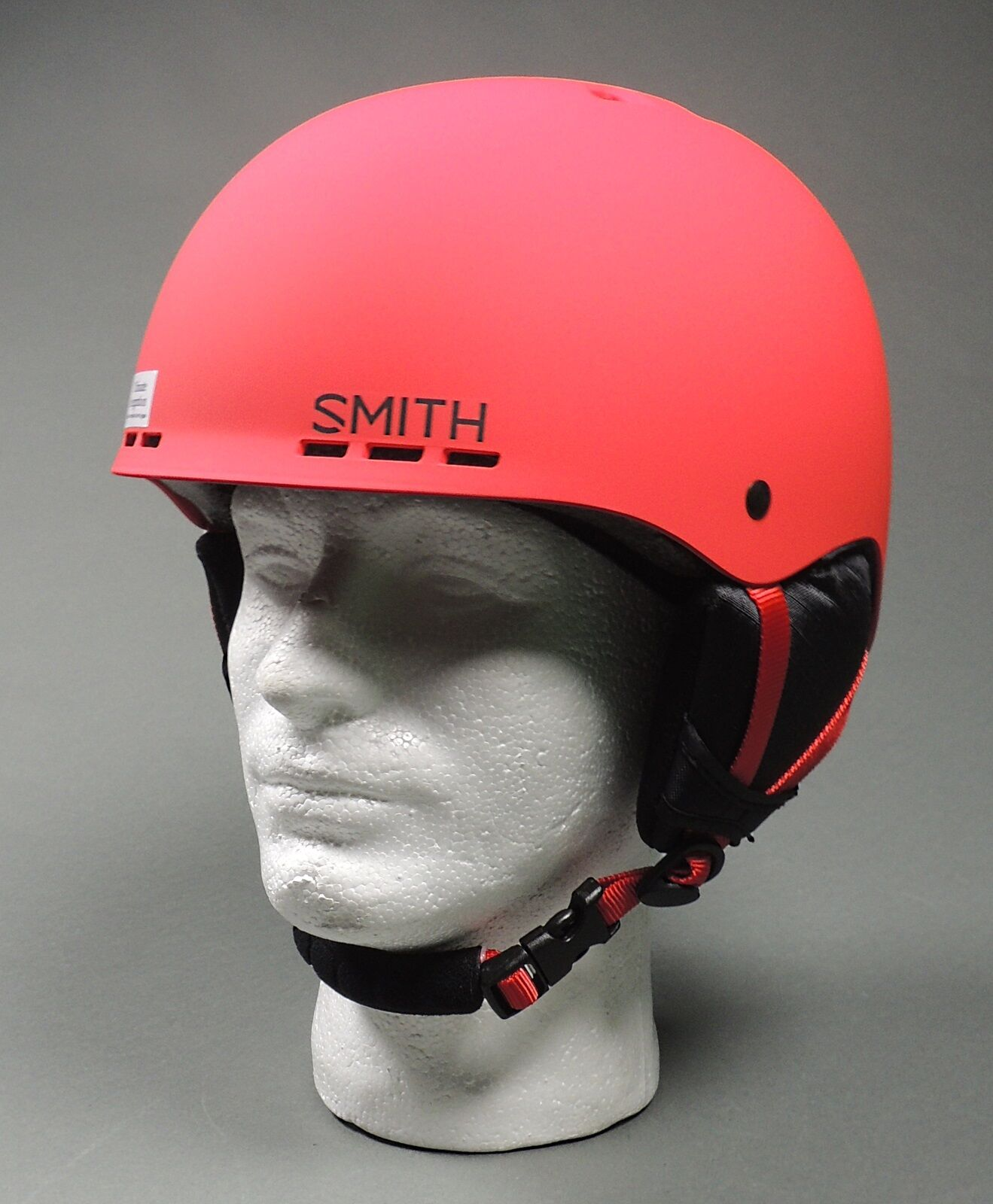 Smith Holt SR Ski / Snowboarding Helmet Senior Matte Fire (NEW