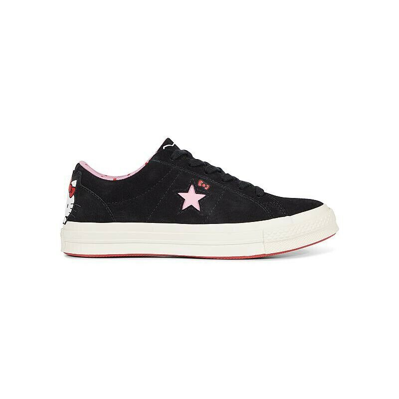 Hello Kitty x Converse One Star Suede Low Top nero nero nero 162938C Donna  Dimensione 8 585ad5