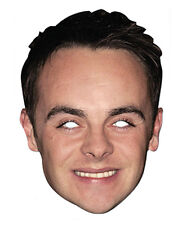 ANT McPARTLIN Celebrity 2D TESSERA PARTITO Face Mask Fancy Dress Up TV Presenter