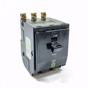 Square D Circuit Breaker QOB350 HACR 3P 50A 120//240 NEW