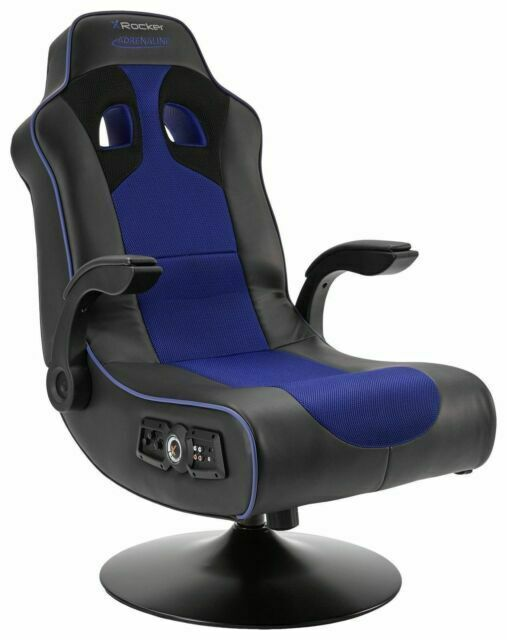 X Rocker Adrenaline Gaming Chair For Ps4 And Xbox One Black Blue