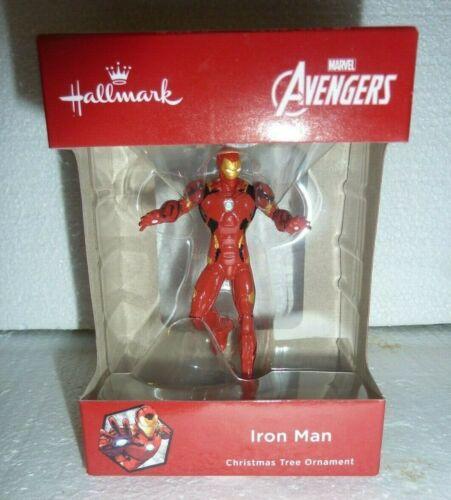 New in Box Hallmark Marvel Avengers Iron Man 2018 Christmas Tree Ornament  S-1