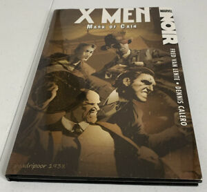 Marvel X-Men Noir: Mark Of Cain #1-4 Hardcover Graphic Novel Pre Owned TPB Xmen