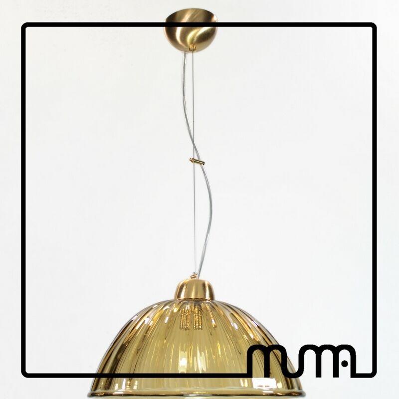 Lampadario glass lampshade E27 vetro Murano altezza regolabile