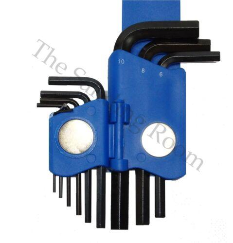 Hex Key Allen Key Set 9 PCS 1.5-10mm Black Alen Allan ARNDT 911-CV-CLIP-110-B