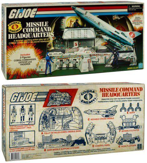 hasta un 60% de descuento San Diego Diego Diego comic-con 2017 HASBRO exclusivo G.I. Joe Cobra Missle comando sede 1983 REPRO  directo de fábrica