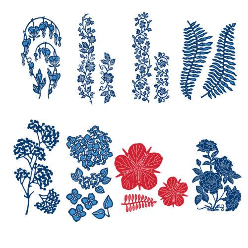 Blume Metall Stencil Cutting Dies Scrapbooking Fotopapier Karten Stanzschablone