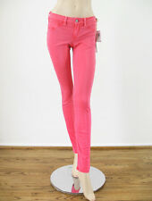 SOLD Design Lab Spring Street Skinny Jeans Light Red Pink 26 $118 7137B -FLAW