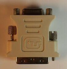 DVI-I 24+5 Pin Stecker zu VGA Kabel 15 Pin Buchse Adapter Konverter Neu