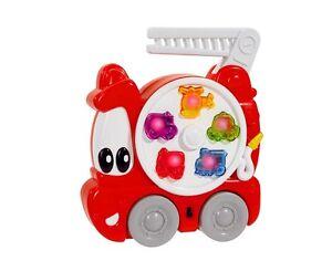 ABC-Feuerwehrauto-mit-Sound-und-Licht-18cm-Simba-Geraeusche-Auto-Babyspielzeug