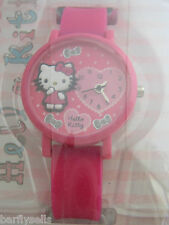 HELLO KITTY WATCH HK022 OFFICIAL SANRIO PINK HEART GENUINE