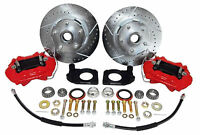 1964-66 Ford Fairlane Disc Brake Conversion Kit - Deluxe