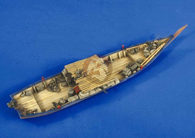 Verlinden 1 35 Sampan Wooden Boat Special Operations use Vietnam War (33cm) 2539