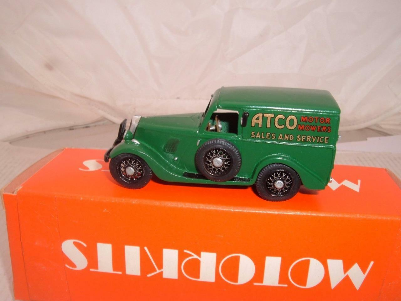 ATCO MOTOR MOWERS SALES & SERVICE FORD Y WHITE METAL STATIC MODEL 1 43 BOXED