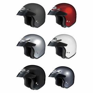 HJC-CS-5N-Open-Face-3-4-Motorcycle-Street-Helmet-DOT-Pick-Size-amp-Color