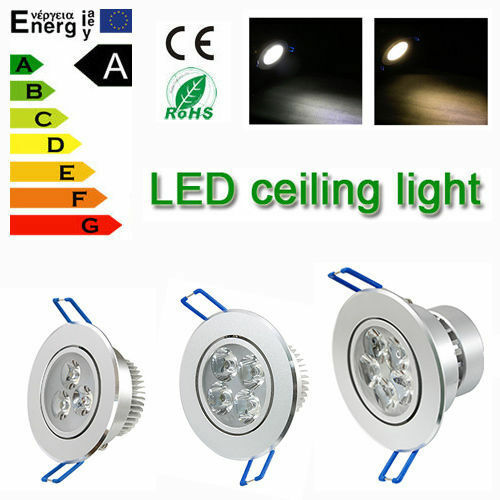 Dimmable 9W 15W 18W Cree/Epistar LED Ceiling Downlight Recessed Lamp Bulb Light