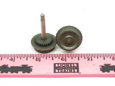 Lionel Parts ~ wheel with axle assembly with worm gear fast angle