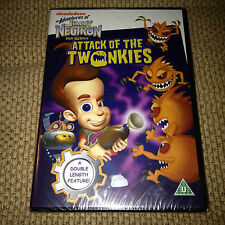 Nickelodeon The Adventures JIMMY NEUTRON Boy Genius ATTACK OF THE TWONKEYS DVD