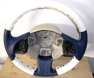 Steering cover New Fiat 500 real leather ivory