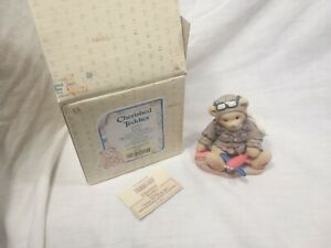 Cherished-Teddies-034-Lance-Come-Fly-With-Me-034-Boxed