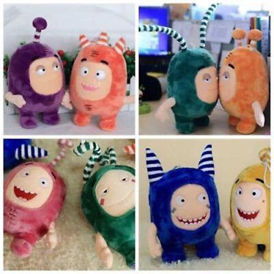 Oddbods 30cm Plush Soft Cuddly Toy Newt Bubbles Pogo Zee Jeff Fuse Slick