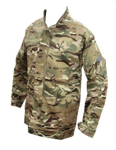 MTP TEMPERATE Giacca//Camicia-Britannico//Militare//militare//cadetto//Thin-Nuovo-C100