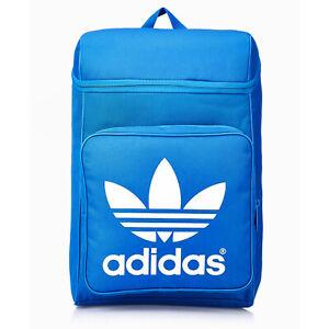 60bc06eeaf776 Das Bild wird geladen adidas-Originals-Classic-Trefoil-Backpack-Rucksack -Freizeit-Schule-