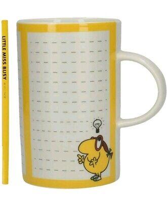 White Little Miss Busy Mug Ceramic