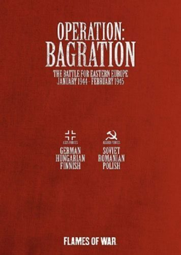 Flames of War 3rd Edition Operation Bagration (2012) FW404 2 boks