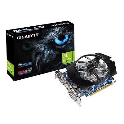 Gigabyte NVIDIA GeForce GT 740 OC 2GB GDDR5 Graphics Card PCI Express DVI HDMI