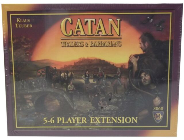 Catan Traders & Barbarians 5-6 Player Extension - 4th Edition - 3068