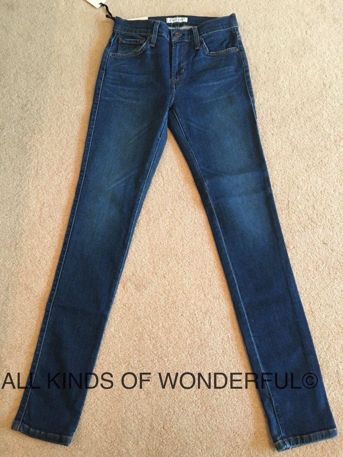 James Jeans Twiggy Skinny Legging in Victory (mid Blau)   BNWT